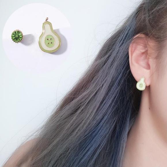 Unique Zone Jewelry - ❤️️NEW UNIQUE Cute Pear Handmade Stud Earrings